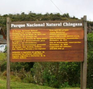 Parque chingaza