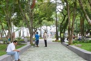 Parque-Simón-Bolívar en arauca arauca