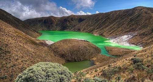 Laguna-Verde-nariño-sitios-turisticos de nariño